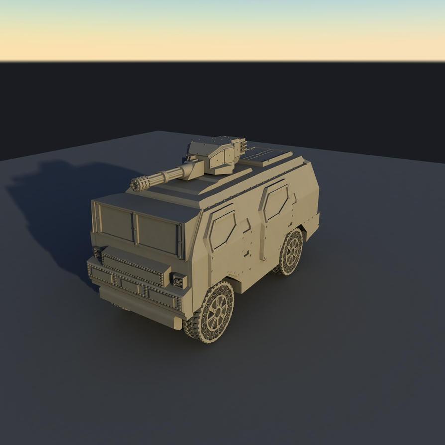 MOAT - Modular Omni-Environmental Assault Transpor by disel91