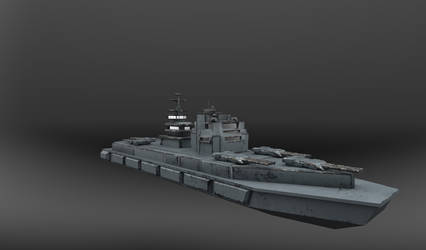 Warship by disel91