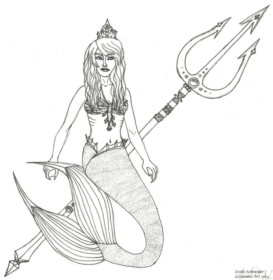Little Mermaid Rental Shell and Trident   Music Theatre International