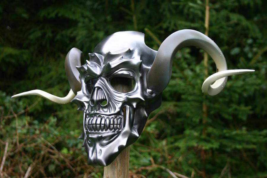 Deaths ceremonial mask by DragonArmoury