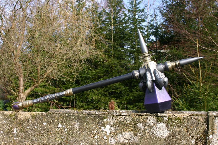 Gryphon knight battle hammer by DragonArmoury