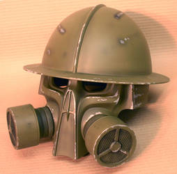 Steampunk helmet final by DragonArmoury