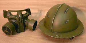 Steampunk Helmet parts