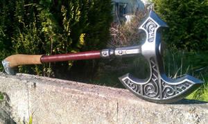 Skyrim Steel axe, larp safe