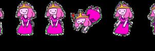 Bubblegum Shimeji by lovify1234
