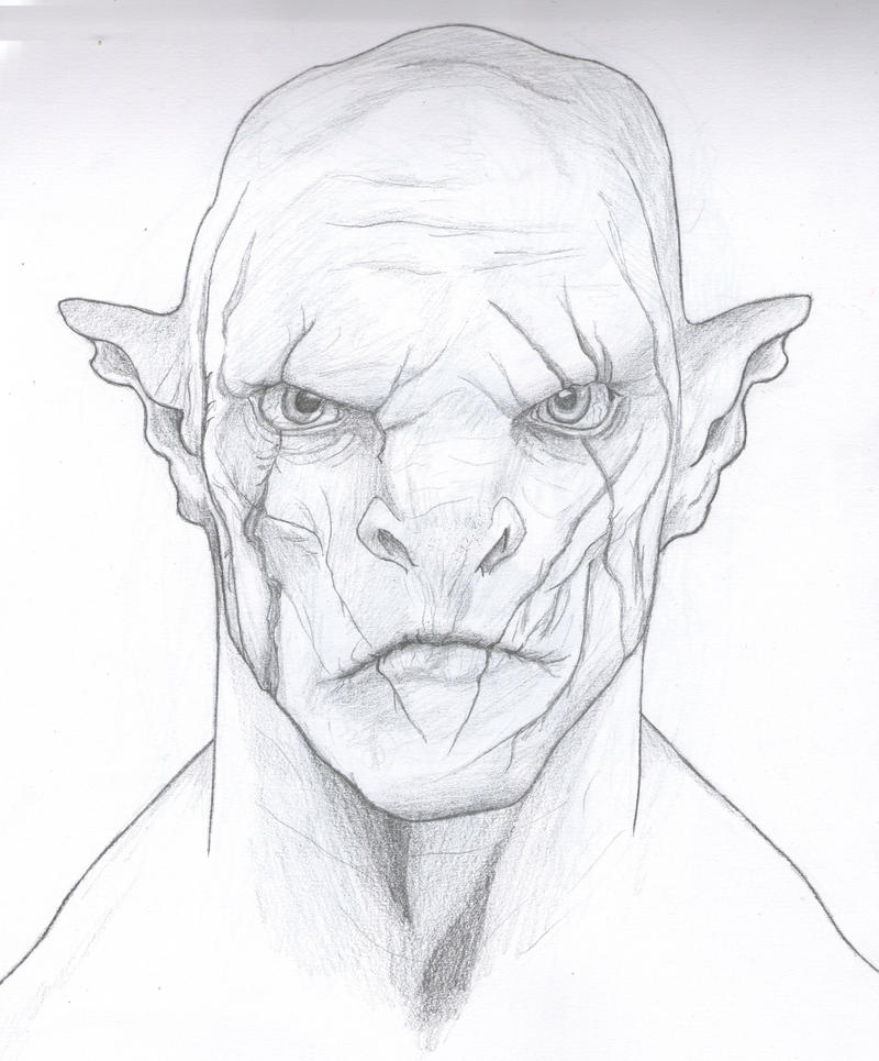 Azog, the pale orc by Mani-Pathamu on DeviantArt