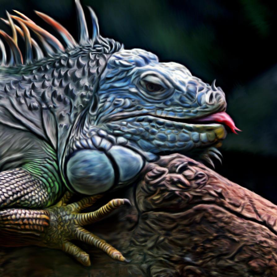 lizard by mrscats
