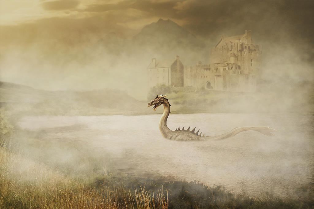 The Secret of Loch Ness by mrscats
