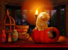 Happy Halloween by mrscats