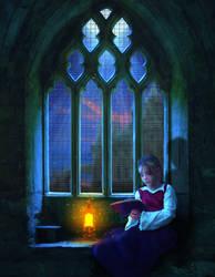 Reading the night away