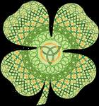 Celtic Four-Leaf Clover