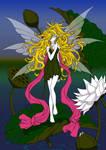 Fairy and Lilies by Sureya