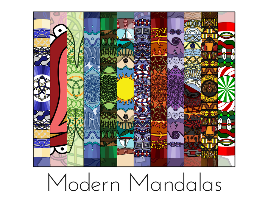 Mandala Calendar by vhartley