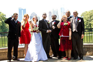 Wedding with Monocles