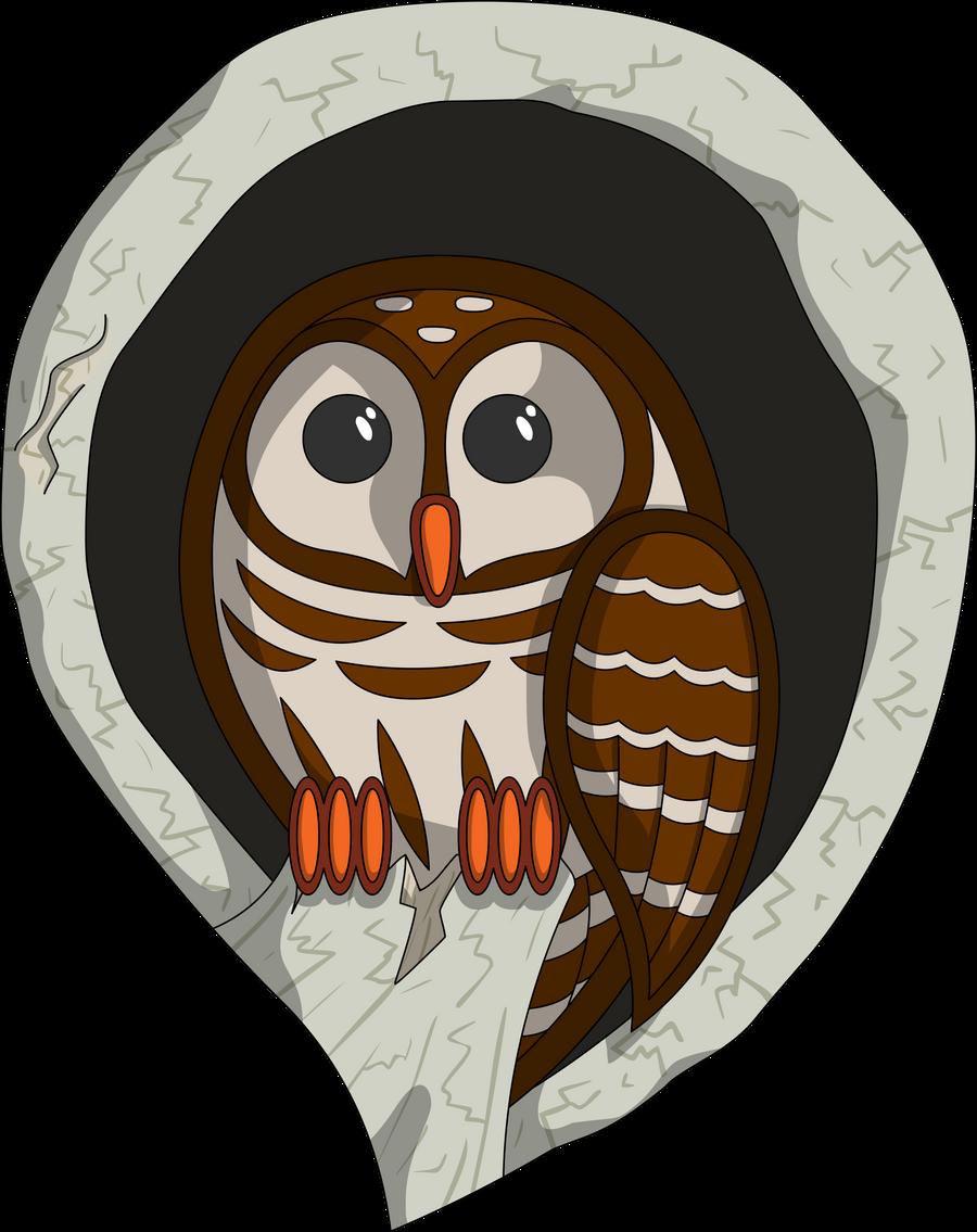 Selene the Owl by vhartley