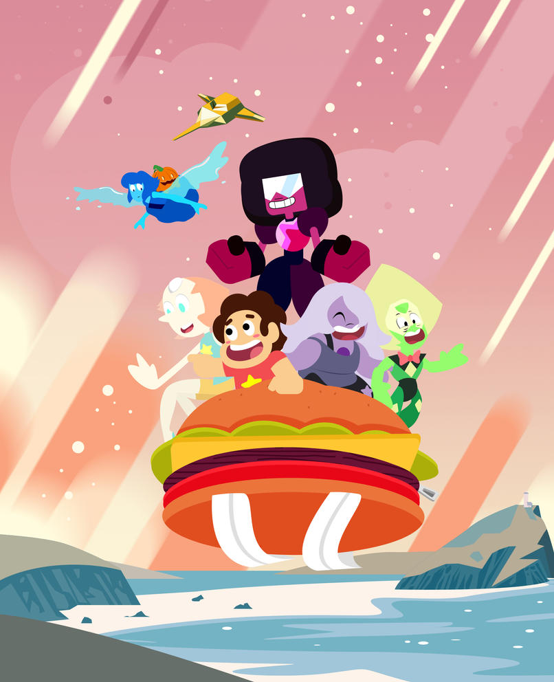 Posting ver 1 of my first Steven Universe fanwork. Had fun doing this despite a thumb related injury but all is good. There is nothing I want to do more than making fanarts of the toons I love.