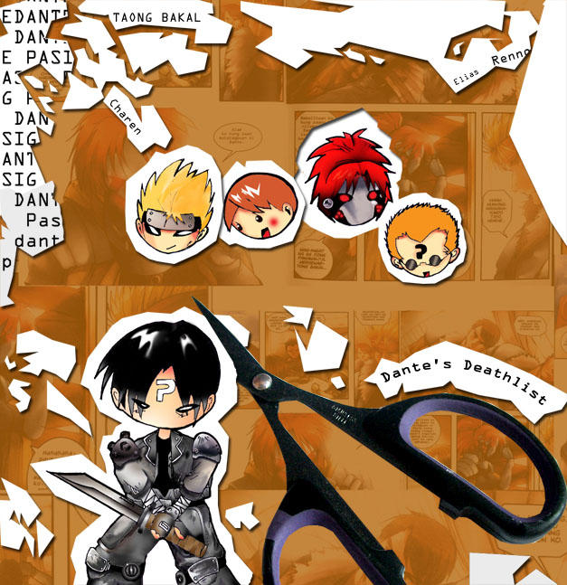 Dante's Deathlist by KugurumiFunk18