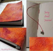 Juicy Snail Journal by Elescave