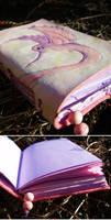 Leather journal 'Hummingbird'