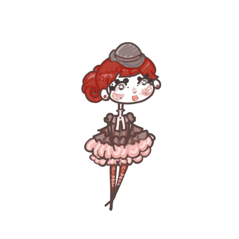 Redhead by Jakkithebunny