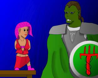 Orgar and Tania by MattDrummy