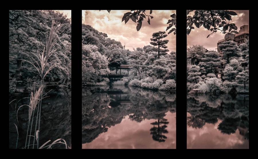 Kyoto - Shosei-en Garden by Wunderling