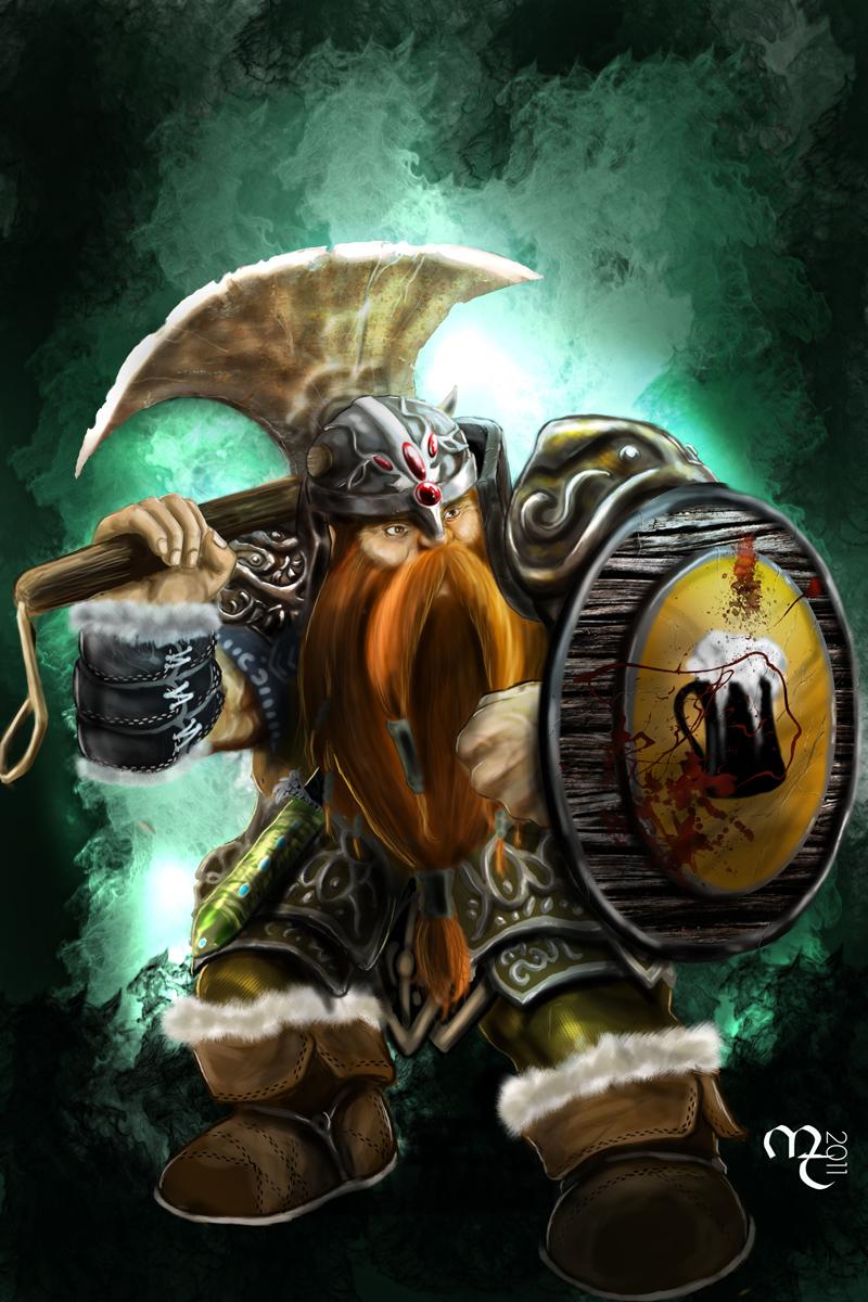 Bruenor Battlehammer by mahirtekdal