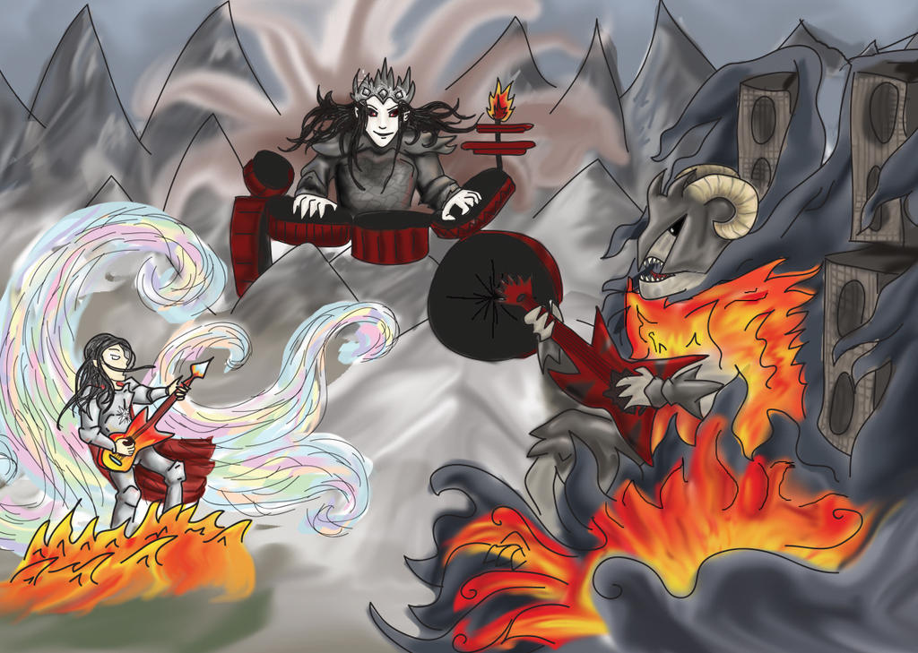 Feanor Vs. Gothmog - Rock Out by RiderRRiddle on DeviantArt