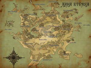 Mapa do Mundo de Dark Rose