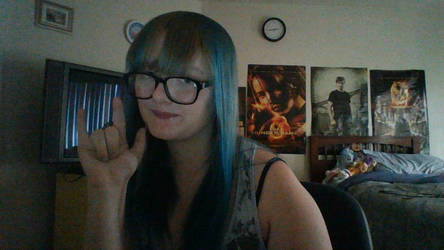 Dumb dumb me dyed her hair again by Darkest-Purity