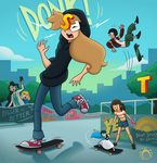 Create a Skate Cheat (Goldie and Others) by Spunkbug