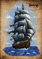 Ship concept by DarkAkelarre