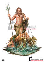 Poseidon God of the Sea - Ancient Greek Mythology by DarkAkelarre