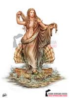 Aphrodite - Ancient Greek Mythology by DarkAkelarre