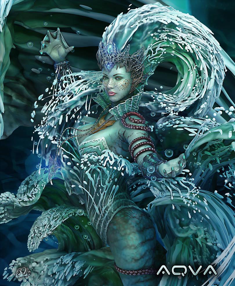 Aqua II by DarkAkelarre