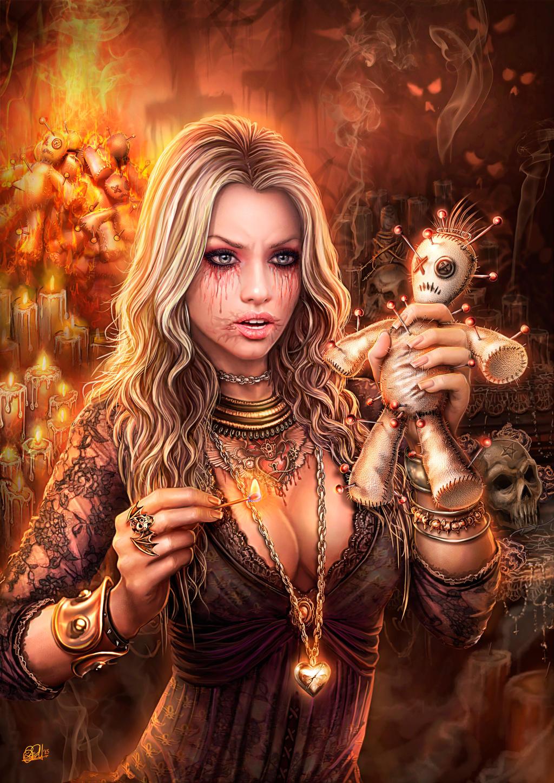 Voodoo Altar - When Love and Hate Collide by DarkAkelarre
