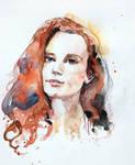 Another watercolor portrait