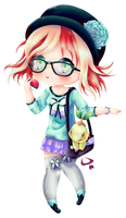 Raffle Prize - Kawaii Poke Girl