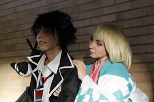 Rin Okumura and Shiemi by itsukih