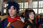 Tharja and Ike Fire Emblem