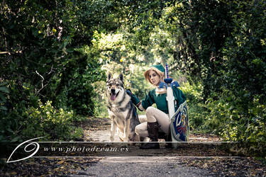 Link - Zelda twilight princess by itsukih