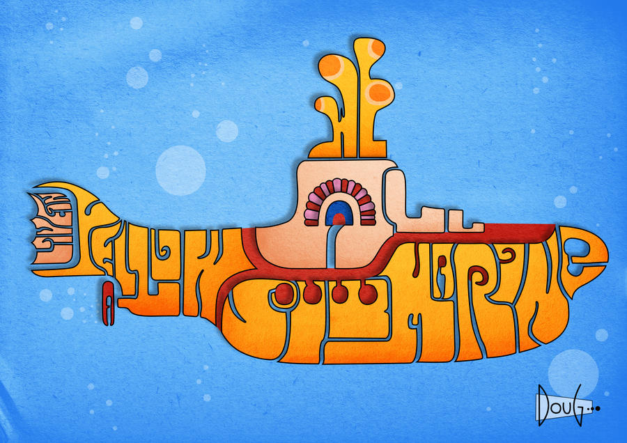 Yellow Submarine -- derivative art