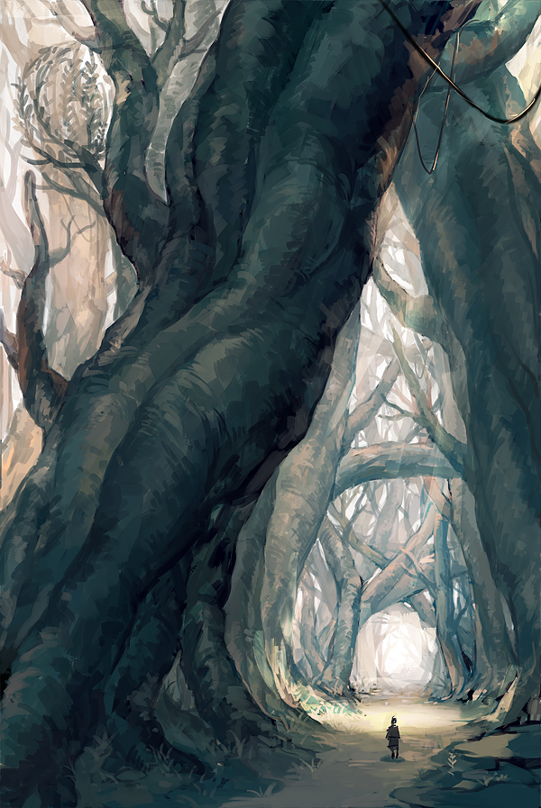 Tree by zhongbiao