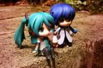 Miku and Kaito Eat Ice Cream