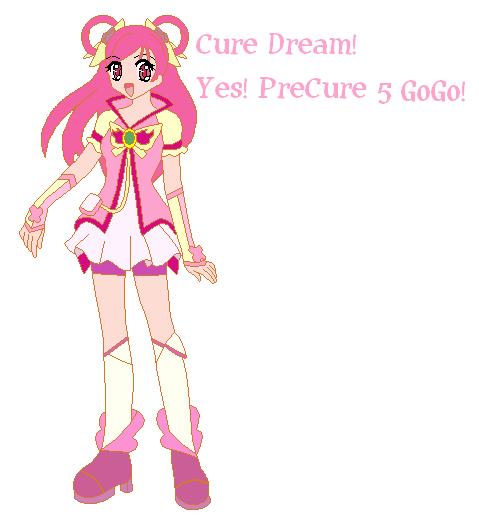 Cure Dream by princess-peach1