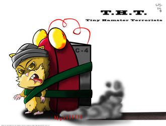 Tiny Hamster Terrorist by Morte8