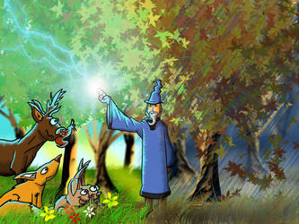 The magic of autumn by Morte8
