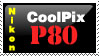 CoolPix P80 Stamp by MikeyStudios