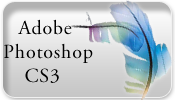 Adobe Photoshop CS3 Button by MikeyStudios