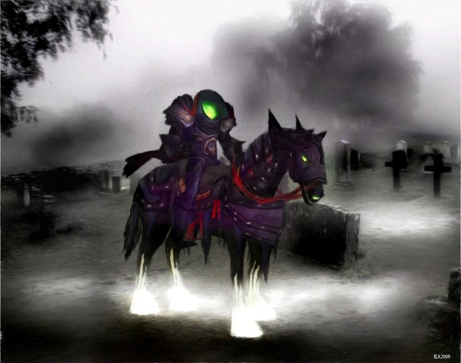 Headless Horseman by Seralunai